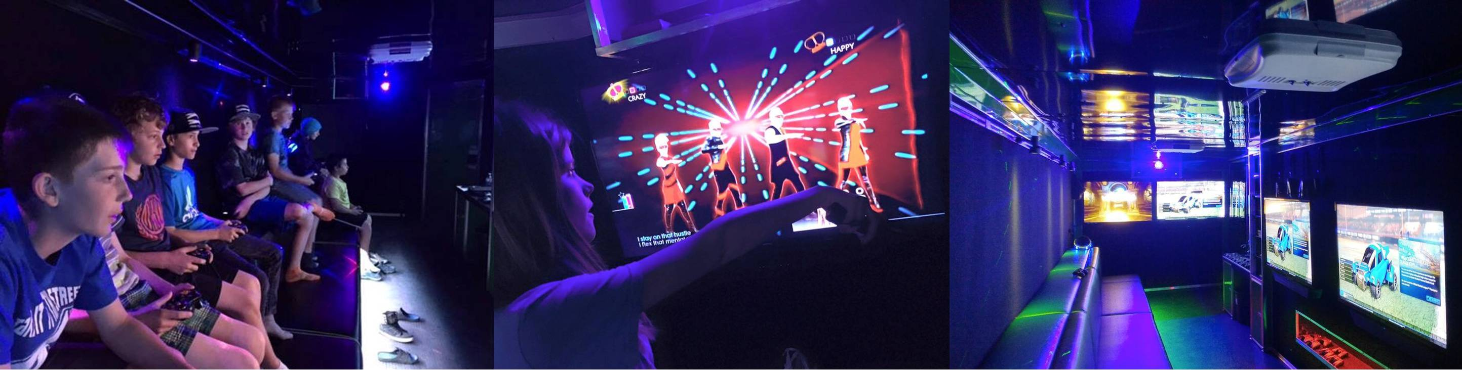 Birthday parties in Chicago, Illinois - video game truck party with Chicago Game And Go